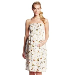 Jules & Jim Maternity Nid D'Abeille Tube Dress